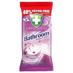 Greenshield Wipes Bathroom 70's